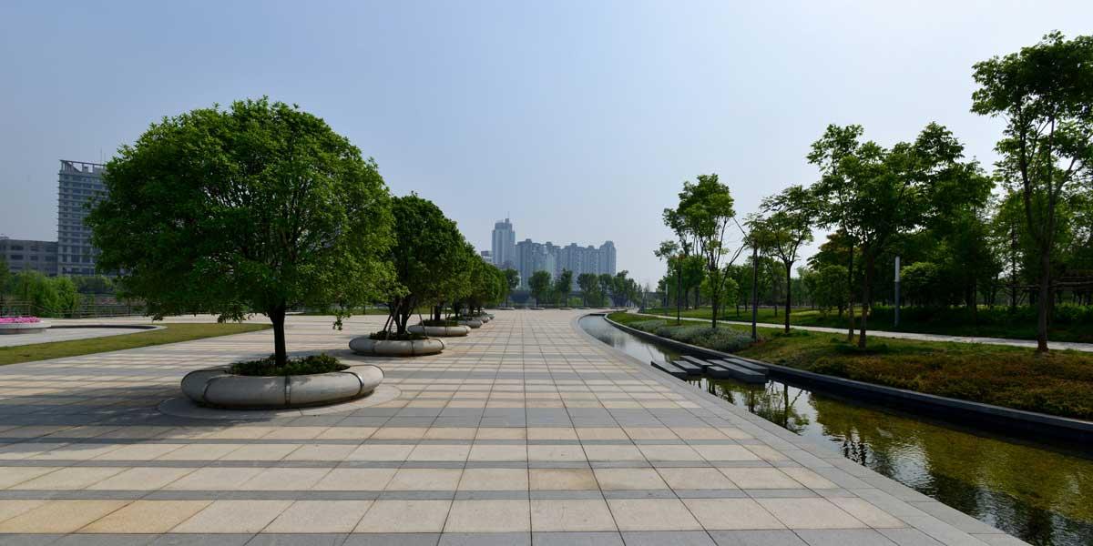 浙江公园入口环境改造工程施工组织设计(仿古,园林)